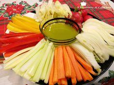Pinzimonio di Verdure Buffet, Food Humor, Antipasto, Prosciutto, Creative Food, Superfoods, Finger Foods, Celery, Beverages