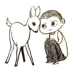Ronan friend of all animals