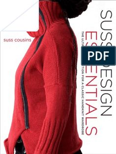 Suss Design Essentials: The Ultimate Collection for a Classic Handknit Wardrobe by Suss Cousins - Random House USA Inc - ISBN 10 Little Ballerina, Ballerina Doll, Fingerless Mitts, Sleeveless Turtleneck, Evening Tops, Knit In The Round, Knitwear Fashion, Lace Knitting, Crochet Yarn