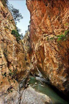 Samaria Gorge, Crete-Greece