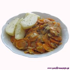 Sahnemöhrchen Thai Red Curry, Shrimp, Meat, Ethnic Recipes, Food, Ground Beef Recipes, Carrots, German Cuisine, Kid Recipes