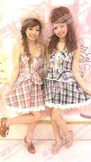 夏季女装新款日本LIZ LISA气质修身挂脖吊带裙蛋糕裙格子连衣裙子-淘宝网
