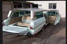 1963 Chevrolet Impala wagon #chevroletimpala1963