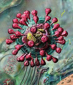 Sars Virus - viruses, bacteria, cancer cells - all have fractal characteristics