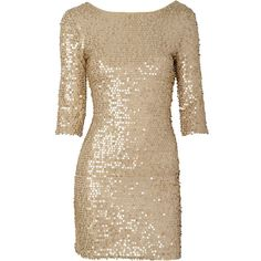 Karen Sequin Dress (1.955 RUB) ❤ liked on Polyvore featuring dresses, vestidos, robes, short dresses, sequined dresses, short sequin cocktail dresses, brown dress and short brown dress