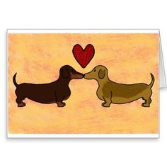 Top Dachshund Valentine Day Cards that are Real Wieners |