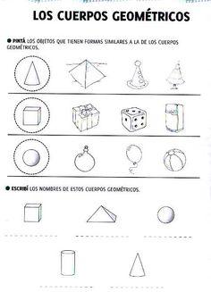 Estas actividades te van a ayudar a repasar lo que aprendiste sobre los cuerpos geométricos. Se las dedico también a las seños que visitan ... I Love Math, Clip Art, Education, School, People, Literacy Activities, Geometry Activities, Teaching, People Illustration