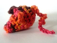 Red hot Cat toy. crinkly or rattle cat nip by TooCuteToChew, $1.25