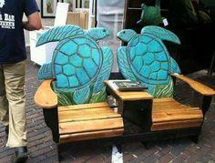 Turtle adirondack chairs
