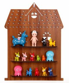 Wooden House Shadow Box by Candy Stripe Cloud for $65 via candystripecloud.com.au #christmas #giftideas #editorspick