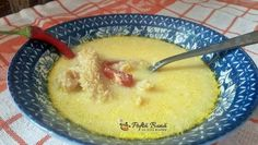 Romanian Food, Dessert Recipes, Desserts, Cheeseburger Chowder, Oatmeal, Food And Drink, Soup, Cooking Recipes, Pudding