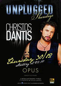 Christos Dantis Live @ Opus