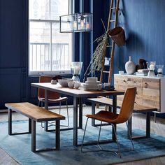 10 Inspiring Blue Rooms | west elm