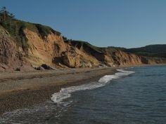 The Mabou Coal Mines beach - Cape Breton Island, Nova Scotia, Canada.