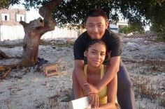chinese man with african woman <3 <3