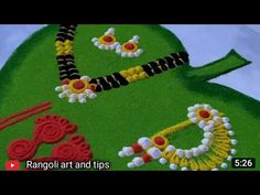Simple Rangoli Border Designs, Rangoli Designs Latest, Simple Rangoli Designs Images, Rangoli Borders, Rangoli Designs Flower, Free Hand Rangoli Design, Colorful Rangoli Designs, Beautiful Rangoli Designs, Kolam Designs