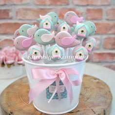 """603 Likes, 24 Comments - Kurabiye Kamyonu (@kurabiyekamyonu) on Instagram: """"Kuş ve kuş kafesi cakepop'lar..."""""""