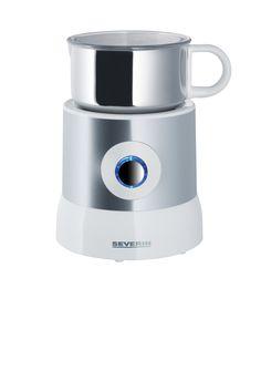 CALENTADOR Y EMULSIONADOR DE LECHE POR INDUCCIÓN 9684  Potencia 500 W.  Capacidad / Contenido aprox. 500 ml  Nº EAN 4008146968402  Vaso emulsionador de acero inoxidable desmontable, conector de 360° para un fácil uso.  Por inducción.  Sirve para espumar 100 - 260 ml de leche y para calentar 100 - 500 ml de leche.  Accesorios calentador y emulsionador con soportes magnéticos para guardarlos  Espuma leche en un instante  Posibilidad de espumar leche fría o caliente.  Embalaje de 4 unidades.