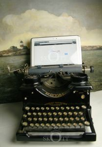 www.galleriskott.se Typewriter, Electronics, Typewriters