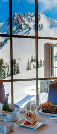 Here are the ski resorts with the best on-mountain food, because brown bagging doesn't always cut it.