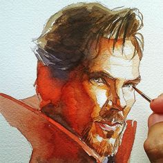 Water Color! Kudos to whoever the artist is!