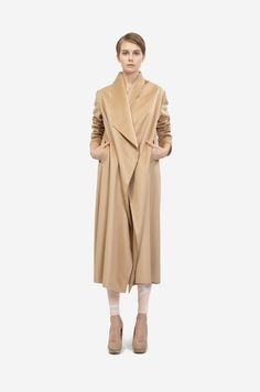 LONG CASHMERE COAT – Leeda