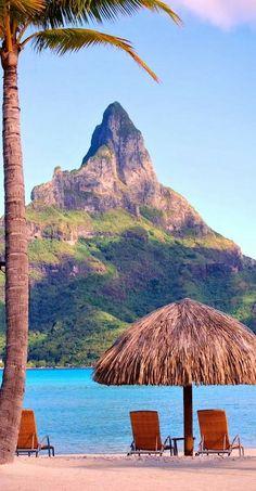 Bora Bora, Tahiti, share moments #Travel #PhotoFabulous