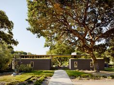 Sonoma Residence, by Turnbull Griffin Haesloop Architects.