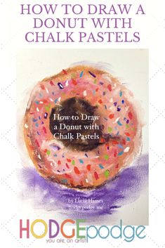 This is making me sooo hungry! Here is a really fun challenge for all you who love donuts! You may also want to celebrate National Donut Day on June How to draw a donut with chalk pastels. Chalk Pastel Art, Chalk Pastels, National Donut Day, Art Curriculum, Fun Challenges, How To Take Photos, Art Tutorials, All Art, Art Lessons