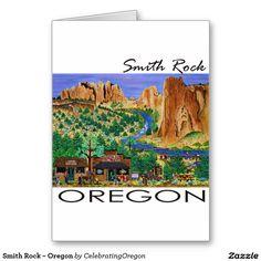 Smith Rock ~ Oregon Greeting Card