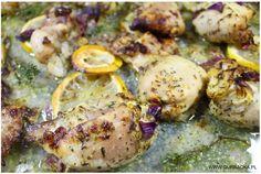 kurczak w cytrynowej marynacie Kasia Gurbacka