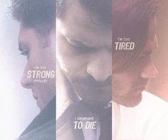 Dean, Castiel, and Sam.