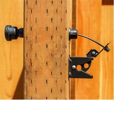 """EZ Gate Latch Pull is a durable modern solution to reaching over the gate. With its attractive design, it's a great alternative to the string and wire pulls commonly being used with gravity gate latches. Product Specifications: Adjustable from a 2 1/4"""" to a 5 1/2"""" post Designed for wood, vinyl and metal gates Compatible with most standard gravity gate latches Durable design Weather resistant Designed in the USA Gravity latch not included USA Patent: US 8,764,076,B2"""