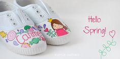 Esencia Custome: Zapatillas personalizadas - Custom sneakers #spring