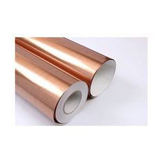 Brushed Copper Metal Covering Self-Adhesive Shelf and Drawer Liner 19inch by 9.8ft