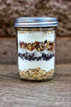 eNourishment: Recipe ReDux Post # 17 Chocolate Chip Pecan Coconut Protein Bar Mix