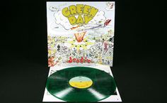 "Green Day ""dookie"" reissue on limited edition green vinyl"