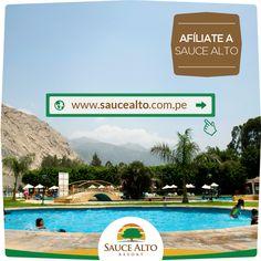 ¡Ven y conoce Sauce Alto Resort! - http://www.saucealto.com.pe/