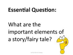 **1st Grade Common Core Reading Essential Questions for Posting**Post the Essential Question to remind students of the outcome of the lesson....