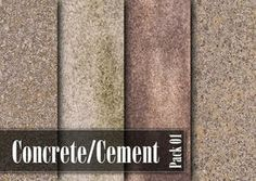 Concrete Texture Pack - http://www.dawnbrushes.com/concrete-texture-pack/