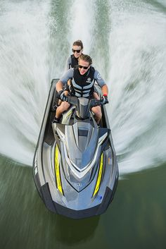 Reengineered from the ground up on an innovative, new race performance platform that's as much fun to ride as it is easy on the wallet. Innovative features include a redesigned NanoXcel hull for a nimble, fuel-efficient ride, a new electric trim system and Yamaha's patented RiDE technology for total control on the water. Passenger-friendly upgrades include a versatile three-up seat, expanded swim platform and tow hook.