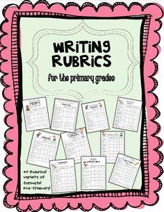 Teaching Blog Addict: Writing Rubrics