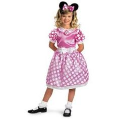 Cute Disney Clubhouse Minnie Mouse Classic Pink Girls Halloween Costume - product - Product Review