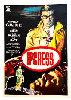 The Ipcress Files (1965) Crook-turned-secret-agent Harry Palmer tries to find a missing scientist. Based on characters created by Len Deighton.