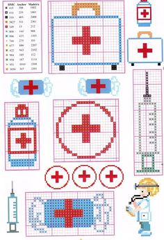 27 best images about Nurse/Doctor Counted Cross Stitch Patterns, Cross Stitch Charts, Cross Stitch Designs, Cross Stitch Embroidery, Hand Embroidery, Stitches Medical, Cross Stitch Needles, Perler Patterns, Plastic Canvas Patterns