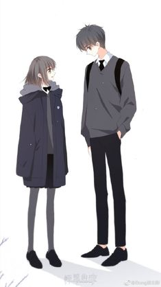 Love Never Fails Manga Anime Chibi, Anime Cupples, Chica Anime Manga, Anime Couples Drawings, Anime Couples Manga, Cute Anime Couples, Cover Wattpad, Anime Love Couple, Anime Couples