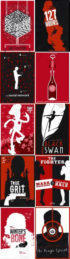 Oscar Nom Posters but better