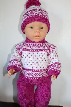 Ravelry: WildHorses' Ski sweater with hat