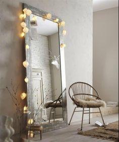 stol & spegel
