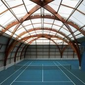 Spoutnik Architecture : Rénovation du Tennis Club de Bourg-la-Reine